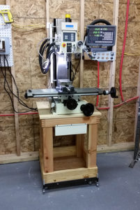 It's here!  The milling machine is now at The MakerBarn